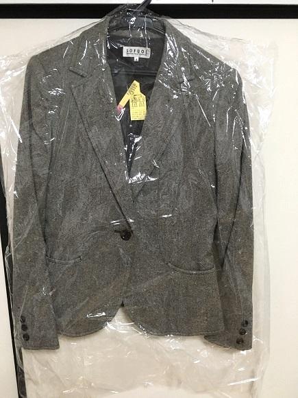 リナビスのクリーニング~シワなく仕上がったジャケット