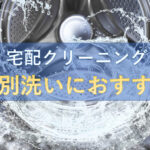 個別洗いにおすすめの宅配クリーニングランキング
